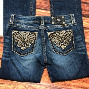 Miss Me Jeans - Miss Me Embroidered Boot Cut Jeans